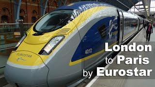 London to Paris by Eurostar e320