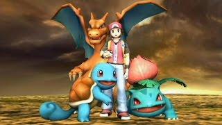 Super Smash Bros Brawl - Classic Mode - Pokemon Trainer (Ivysaur / Squirtle / Charizard)