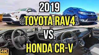 ULTIMATE CUV -- 2019 Toyota RAV4 Limited vs. 2019 Honda CR-V Touring: Comparison