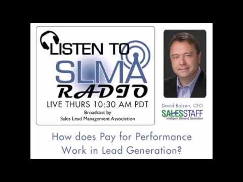 How Does Pay-for-Performance Work in Lead Generation? - SalesStaff interview with SLMA
