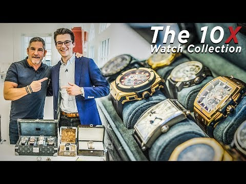 Grant Cardone Exhibits his RARE Watch Collection photo