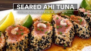 Seared AHI TUNA Recipe - Catch n Cook!