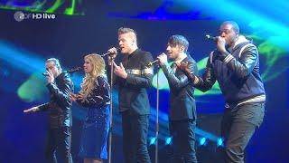 "Pentatonix (PTX) - ""Wetten, dass..?"" Medley auf ZDF HD (13.12.2014 Letzte Sendung)"