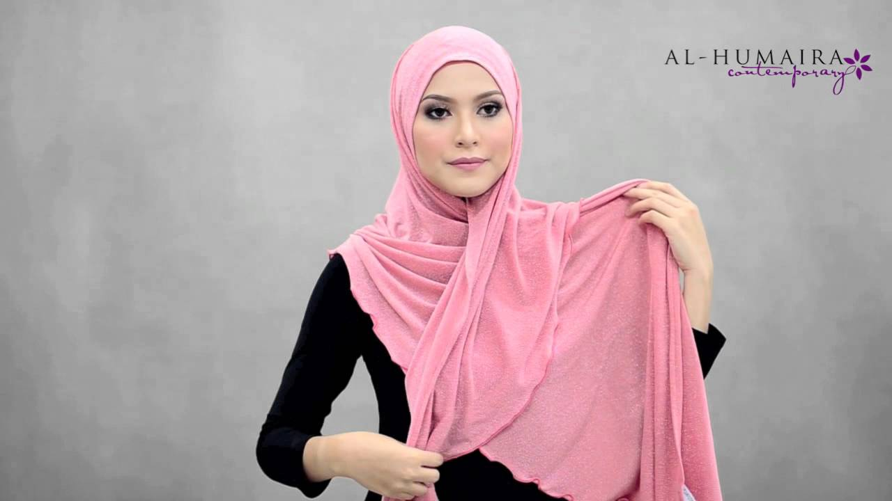 Clara shawl styling tutorial by al-humaira contemporary youtube.