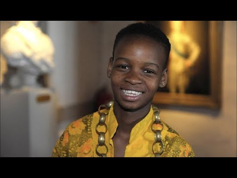 Sesethu – deaf and a girl in South Africa. World's Children's Prize Child Juror.