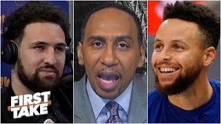 Stephen A.: The Warriors will make the league pay when Klay Thompson returns | First Take