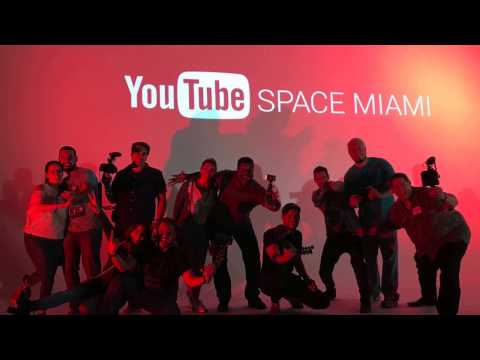 Youtube Space Miami at M3 Studios Art Basel Week 2016