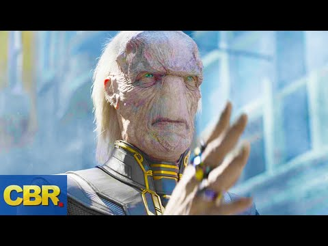 What Nobody Realized About Ebony Maw In Marvel's Avengers Infinity War