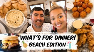 WHAT'S FOR DINNER  | MYRTLE BEACH EDITION | JESSICA O'DONOHUE