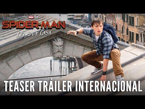 SPIDER-MAN: LEJOS DE CASA. Teaser Tráiler Internacional. En cines 5 de julio.