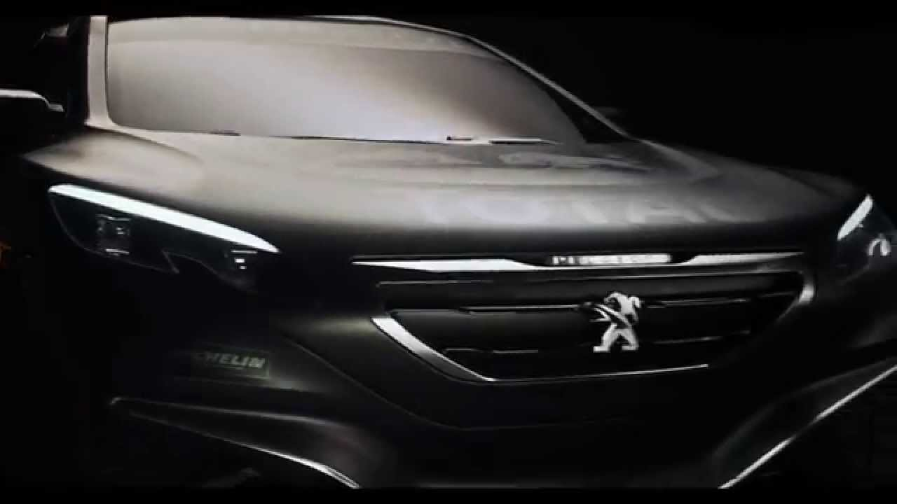 Peugeot dévoile sa nouvelle voiture pour le Dakar 2015