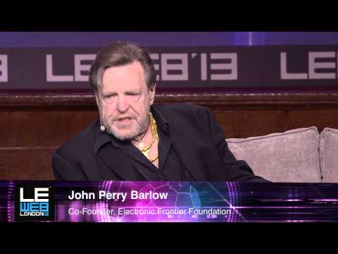 John Perry Barlow (EFF) - LeWeb London 2013