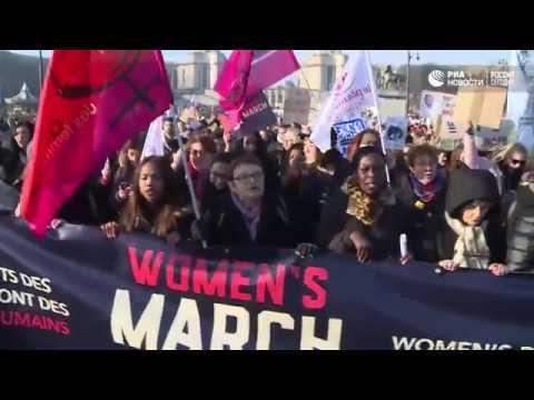 Женские марши против Трампа