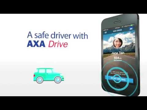 AXA Drive Malaysia Mobile Application
