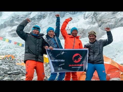 MAMMUT'S #PROJECT360 CONQUERS MOUNT EVEREST