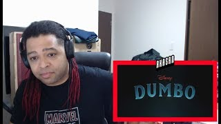 Dumbo Official Teaser Trailer - REACTION