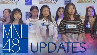 MNL48 Update: The girls face the panel
