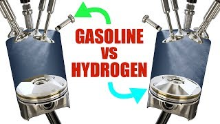 The Difference Between Gasoline And Hydrogen Engines