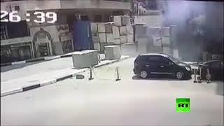تفجير فاشل قرب السفارة الامريكية بالقاهرة     -