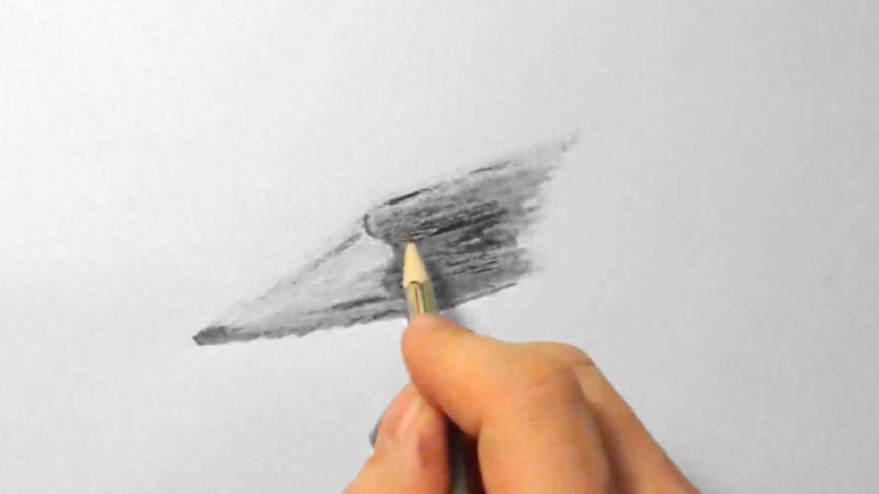 bleistift zeichnen im zeitraffer pencil drawing in fast. Black Bedroom Furniture Sets. Home Design Ideas