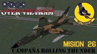 Wings over Vietnam / 357th TFS Licking Dragons / Misión 26