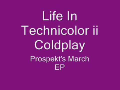 Life In Technicolor ii- Coldplay (lyrics)