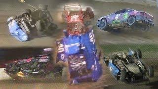 Dirt Track Crash Compilation