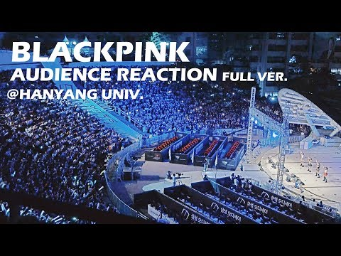 블랙핑크 한양대 관객떼창 Full Version BLACKPINK Audience Reaction Fancam @ Hanyang Univ | by lEtudel