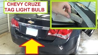 Chevrolet Cruze Tag Light License Plate Light Bulb ...