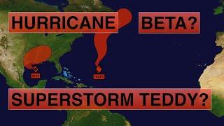 Hurricane Teddy transforms into Superstorm Teddy? Will Tropical Storm Beta become Hurricane Beta?