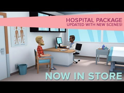 Hospital package is now updated!