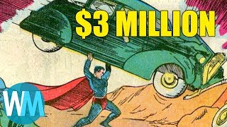 Top 10 Most Valuable Comic Books Of All Time