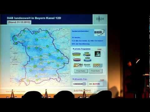 Vortrag: Reiner Müller über DAB+ in Bayern - Entwicklungen und Perspektiven
