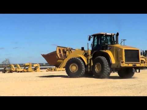 2010 Caterpillar 980H Wheel Loader, A02003