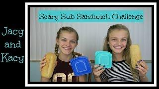 Sub Sandwich Challenge ~ Jacy and Kacy