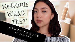FENTY BEAUTY FOUNDATION 10-HOUR WEAR TEST (Philippines)