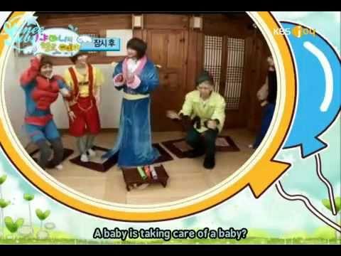 [ENG SUB] SHINee Hello Baby Episode 1 (2/5) 100120