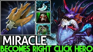 Miracle- [Slardar] Becomes Right Click Hero Game is Hard 7.21 Dota 2
