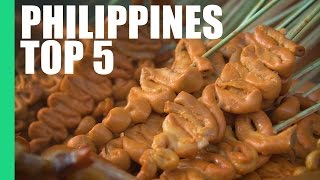 Top 5 Street Foods in the Philippines!