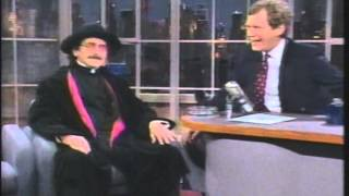 """Father Guido Sarducci - Talks to """"Letterman"""" (late 1980s)"""