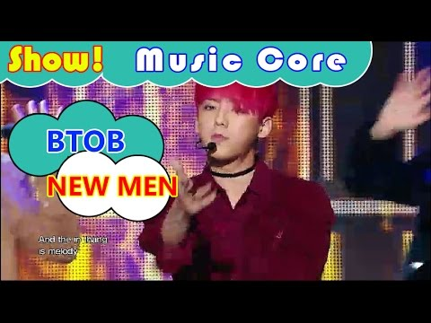 [Comeback Stage] BTOB - NEW MEN, 비투비 - 뉴맨 Show Music core 20161112