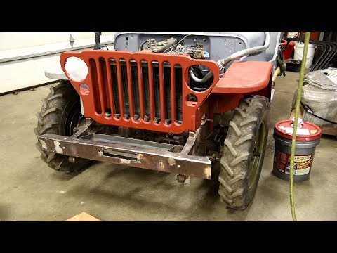 Willys Jeep - Fast Rust Remover
