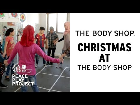 A Day in the Life of the Peace Play Project   The Body Shop