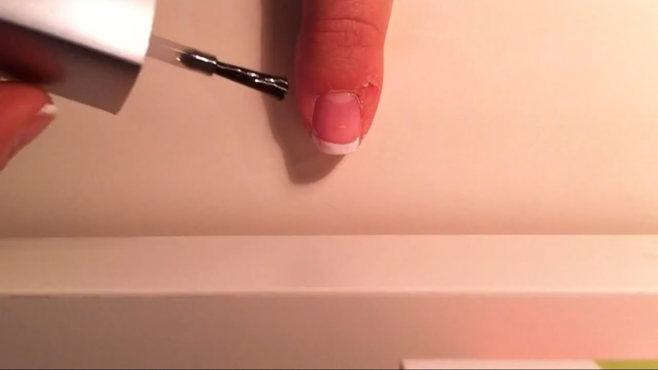 french nails selber machen eine anleitung f r nageldesign youtube. Black Bedroom Furniture Sets. Home Design Ideas
