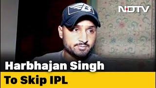 After Raina, Harbhajan Singh pulls out of IPL, says