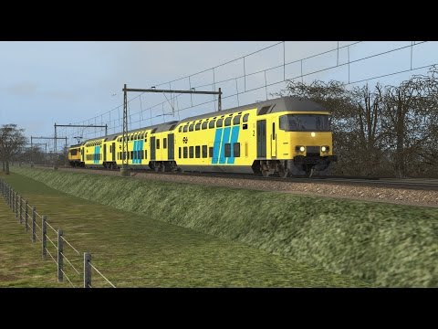 SPECIAL!!!! Op naar Deventer met de DD-AR - Train Simulator 2017