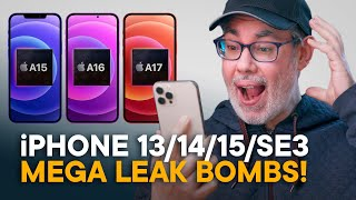 iPhone 13, 14, 15, SE3, Fold — Reacting to MASSIVE Leak Bombs!
