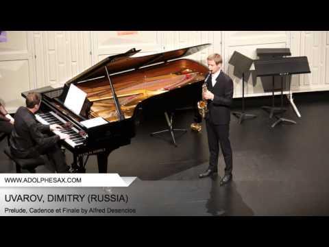 Dinant 2014 - UVAROV Dmitry (Prelude, Cadence et Finale by Alfred Desenclos)