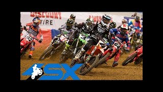450SX Main Event Highlights - St. Louis