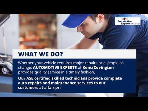 The Best Auto Repair Shop in Kent - Automotive Experts of Kent/Covington